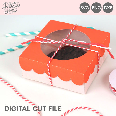 Window Cookie Box SVG Cut File