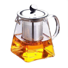 Borosilicate Glass Teapot With Removable Filter
