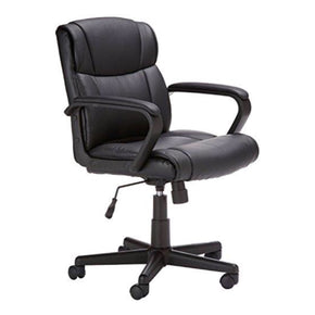 Mid-Back Office Chair, Black