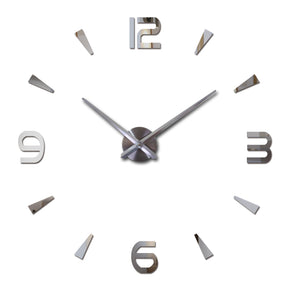 Large Modern Decorative Wall clock w/Quartz Movement