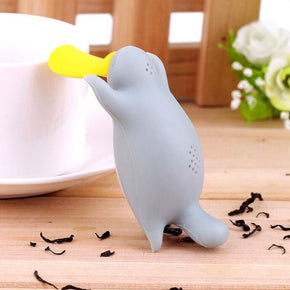 Strainer-Deep Tea Cup Infuser, Platypus Tea Maker