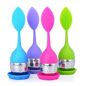 Silicone Tea Infuser With Stainless Steel Strainer