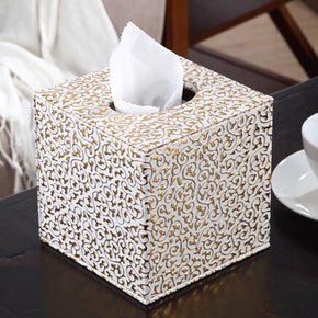 PU Leather Tissue Box