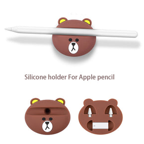 Bear Apple Pencil Dock Stand