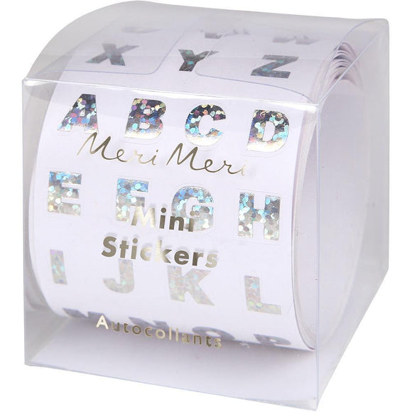 Meri Meri | Sparkly Alphabet Sticker Roll