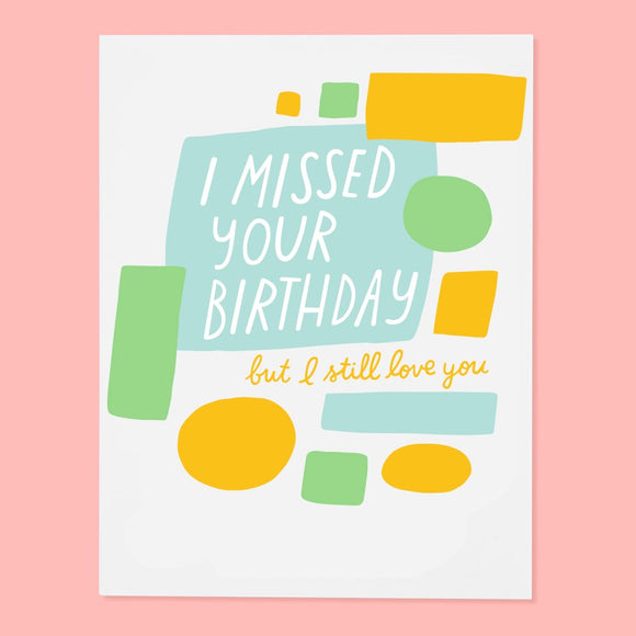 The Good Twin | Missed Birthday Card