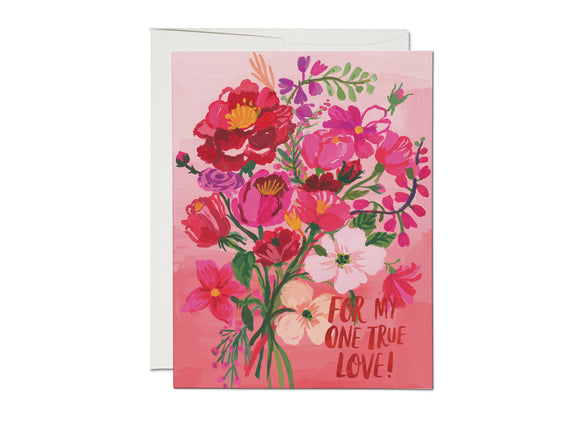 Red Cap | Perfectly Pink Card