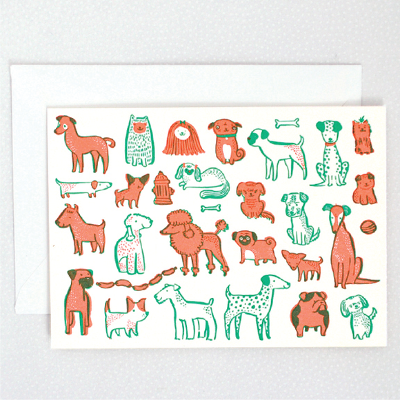 Hello! Lucky | Pups Card Boxed Set