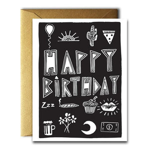 Native Bear | Birthday Stuff Card