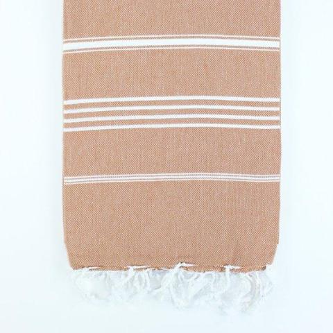 Turkish Beach Towel | Rust