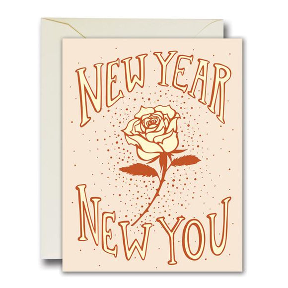 Native Bear | New Year New You Card