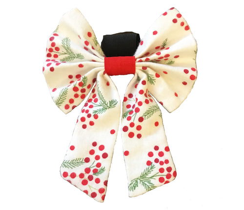 Bow Ties for Dogs: Christmas Cheer Dog Bow Tie