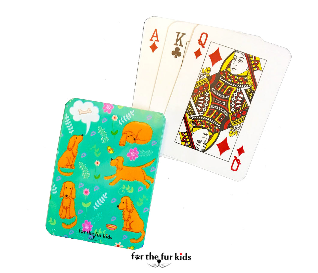 Playing Cards: Dogs All Around