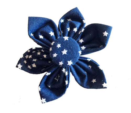 Bow Tie for Dogs: Starry Night Collar Flower