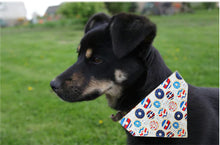 Load image into Gallery viewer, Dog Bandana: I Do-nut Care
