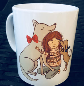 coffee mugs online gifts for dog lover