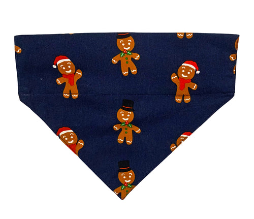 Christmas Dog Bandana: Gingerbread Man Bandana for Dogs and Cats