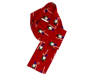 Red Christmas Dog Muffler, Dog Scarf