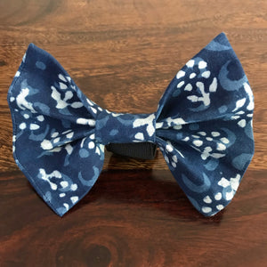 Bow Ties for Dogs: Indigo