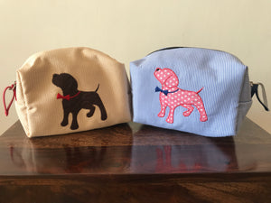 Pouches & Bags: Dog Silhouette