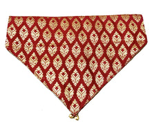 Load image into Gallery viewer, Dog Bandana: Festive Indian Wear Bandana for Pets