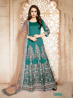Sea Green Banglori Silk Salwar Kameez