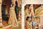 Beige Raw Silk / Banglori Silk Saree