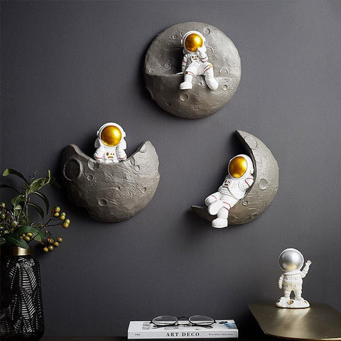 Astronaut Spaceman Living Room Wall Decoration Home TV Background