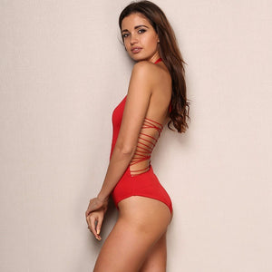Backless Monokini