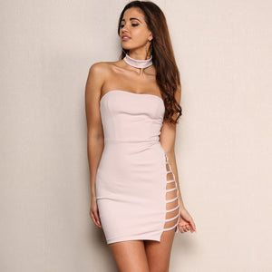 Sleeveless Elastic Pencil Bandage Bodycon Dress