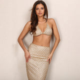 Sequin Elegant Matching Set