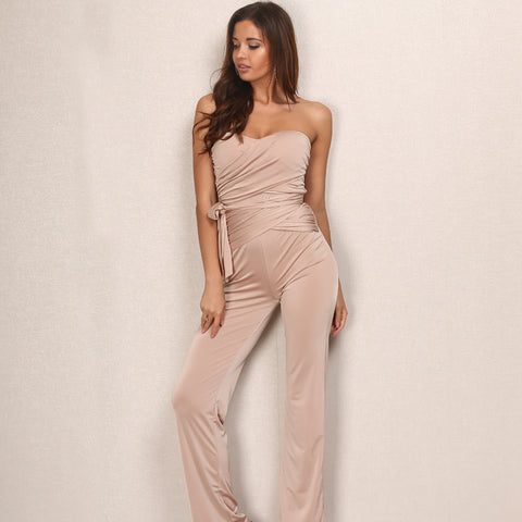 Sleeveless Bandage Jumpsuit