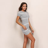 Turtleneck Knitted Casual Sweater Dress