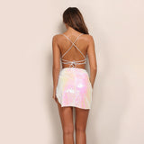 Backless Sequin Set