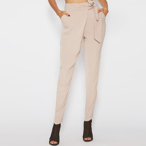 Harem Chiffon High Waist Pants