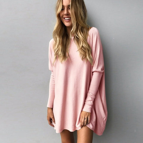 Long sleeve Loose Pullover Sweater Top