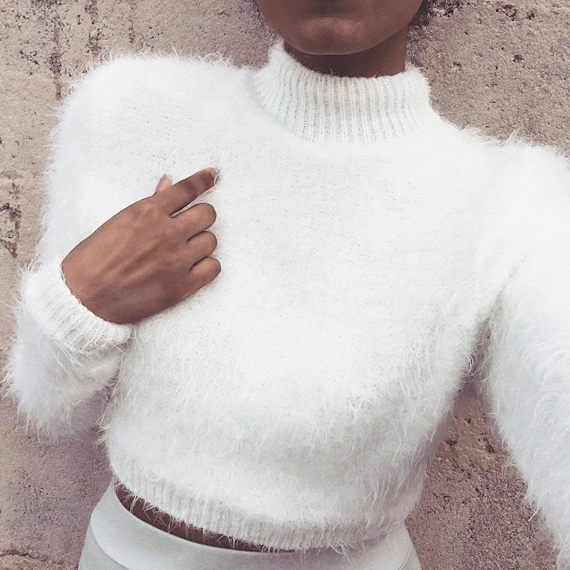 Cashmere Pullover Knitted Sweater Top