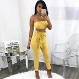 Sleeveless Suede Two Piece Set