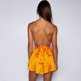Backless Halter Jumsuit