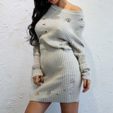 Full Sleeve O Neck Casual Dress