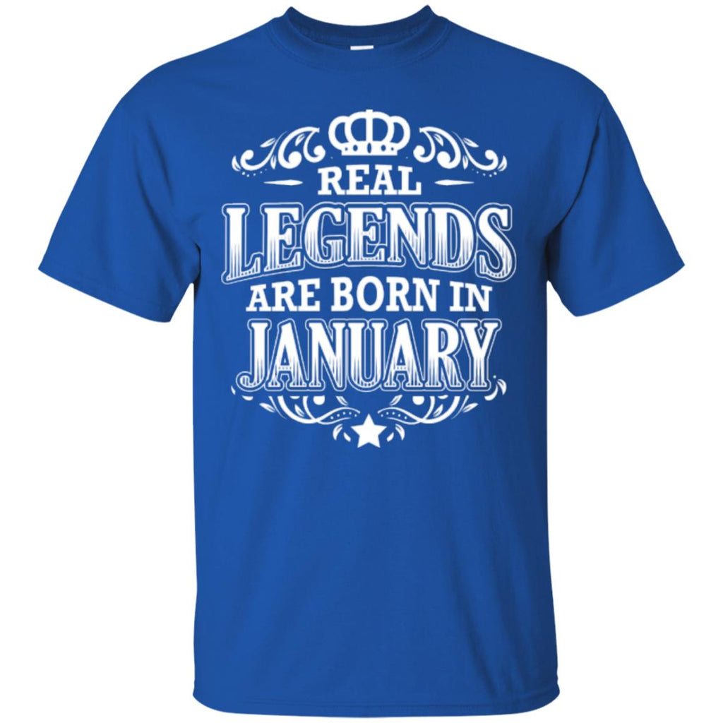Birthday Party Real Legends January - Männer T-Shirts