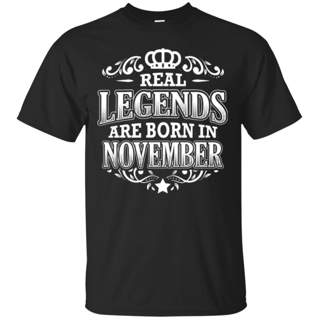 Birthday Party Real Legends November - Männer T-Shirts
