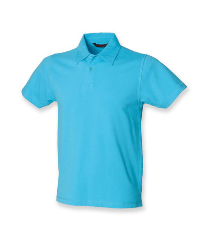 Men Stretch Piqué Polo Shirt - T Shirt Printing UK