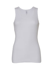 Bella Baby Rib Tank Top - T Shirt Printing UK
