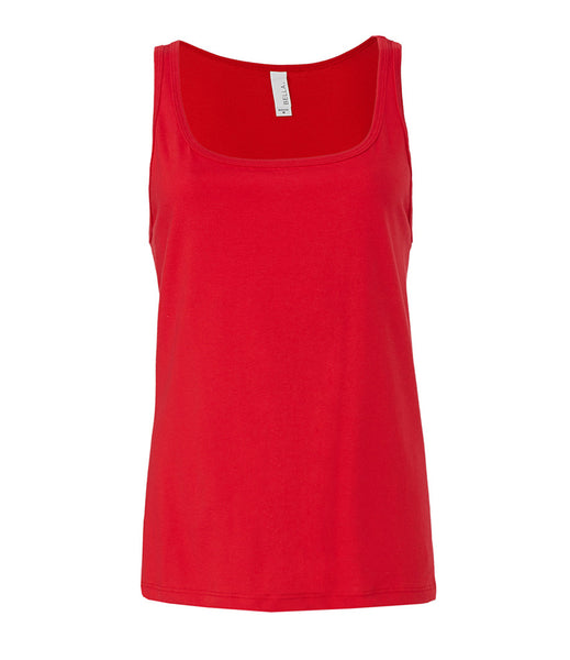 Bella Relaxed Jersey Tank Top - T Shirt Printing UK