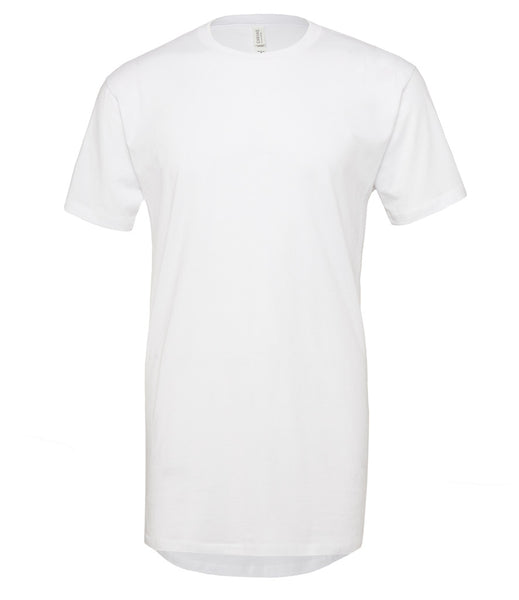 Canvas Long Body Urban T-Shirt - T Shirt Printing UK