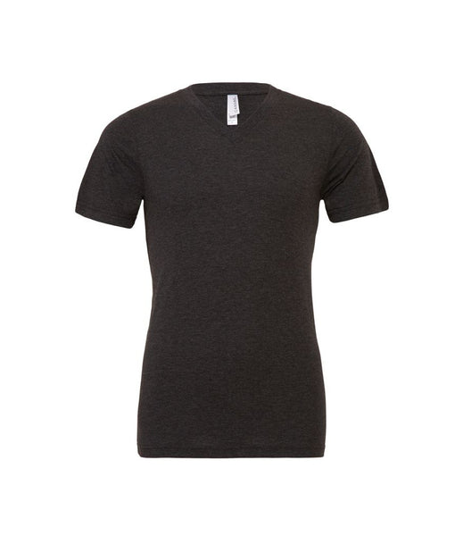 Canvas Unisex Tri-Blend V Neck T-Shirt - t-shirt-printing-uk
