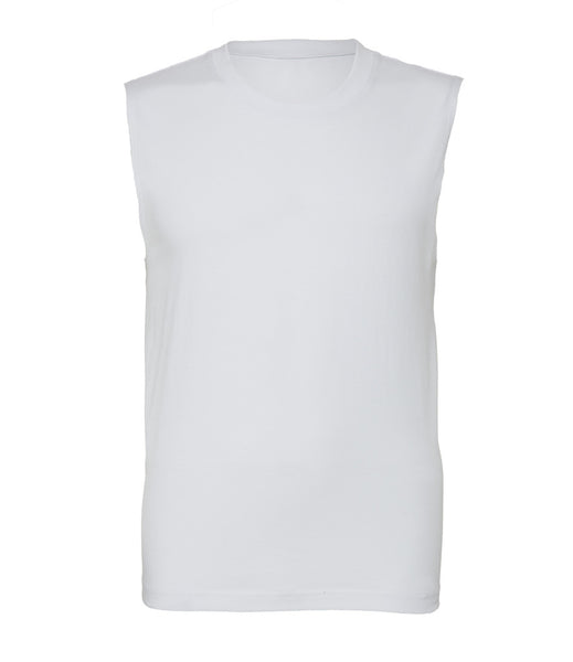 Canvas Jersey Muscle Tank - T Shirt Printing UK
