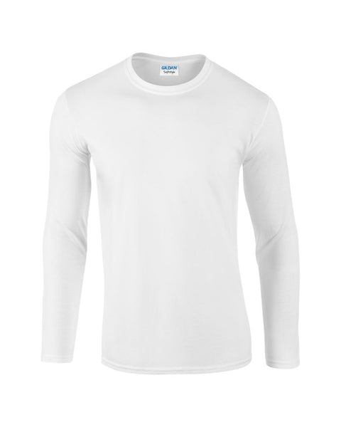 Gildan SoftStyle® Long Sleeve T-Shirt - T Shirt Printing UK