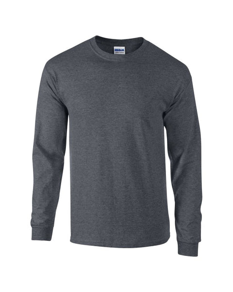 Gildan Ultra Cotton™ Long Sleeve T-Shirt - T Shirt Printing UK